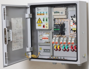 Outdoor lighting load control cabinet (LCC)